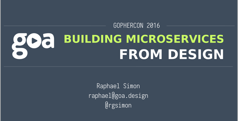 goa GopherCon slides